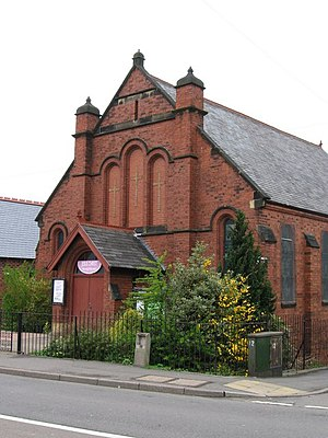 English: Grassmoor - Methodist Church