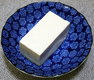 Japanese silky tofu (Kinugoshi Tofu)