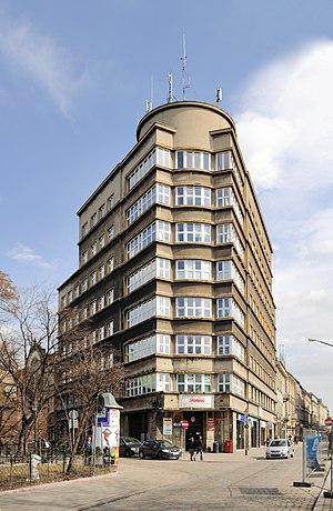 KKO house in Kraków (house of the municipal sa...