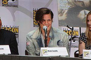 The actor Matt Smith at San Diego Comic-Con In...
