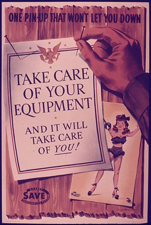 ONE PIN-UP THAT WON'T LET YOU DOWN. TAKE CARE ...