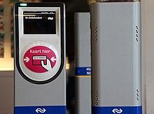 OV-Chipkarten-Leser der NS