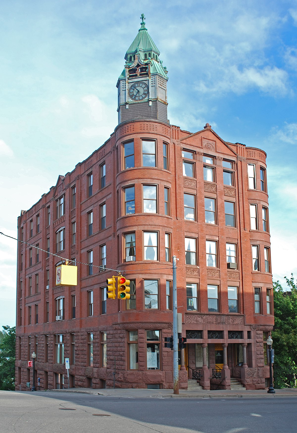 Savings Bank Building Wikipedia