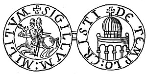 English: Seal of the Templars