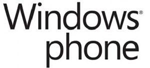 Français : Logo Windows Phone 7