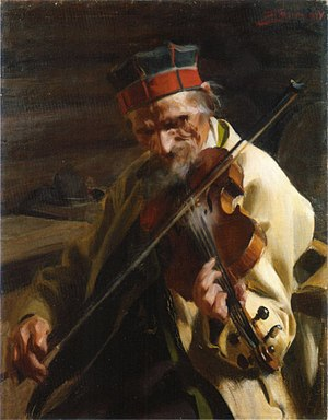 Hins-Anders painted by Anders Zorn, 1904