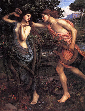 English: Apollo and Daphne