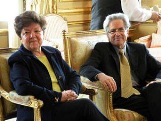 Arturo Valenzuela y la embajadora Vilma Martínez