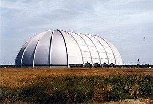 CargoLifter hangar, located at Briesen-Brand (...