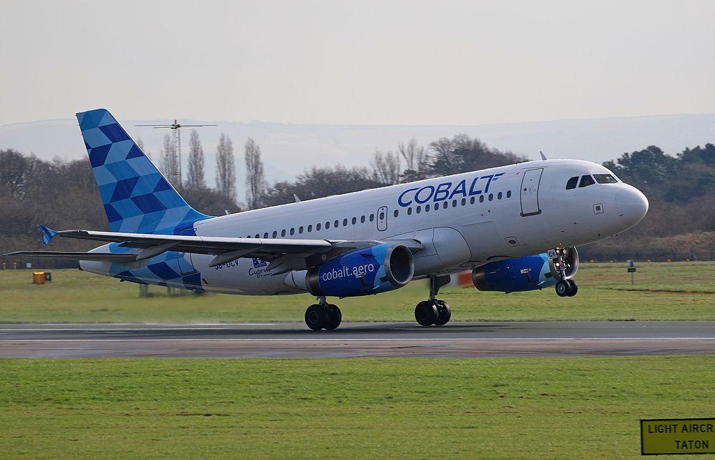 1024px-Cobalt_Air%2C_Airbus_A319-132%2C_5B-DCV Cobalt, l'ennesima compagnia in fallimento