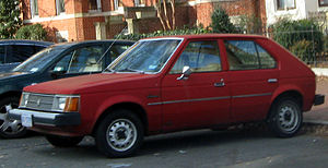 Dodge Omni photographed in Washington, D.C., U...