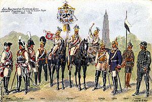 Die Gardes du Corps