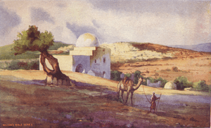 Painting of the Tomb of Rachel