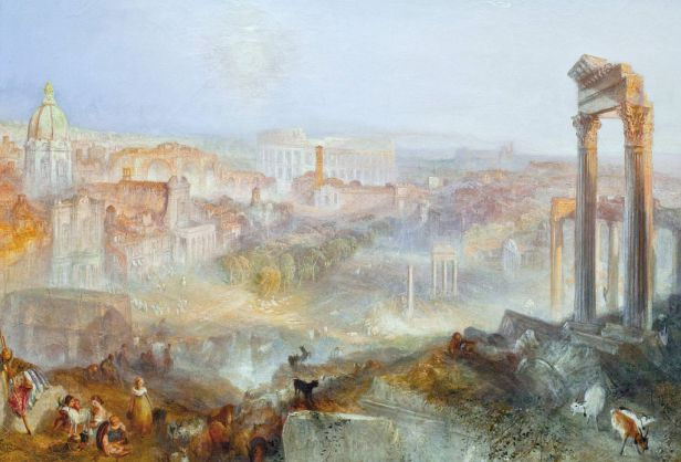 """Modern Rome - Campo Vaccino"" by J.M.W. Turner"