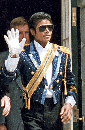 Michael Jackson, cropped from Image:Michael Ja...