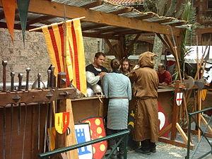 English: perpignan's medieval market Français ...