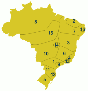 Dialects of Portuguese in Brazil