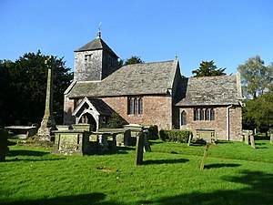 English: St. Michael and All Angels' church, B...
