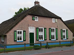 Nederlands: Staphorster farmhouse in authentic...