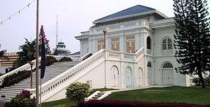 English: Sultan palace in Johor Bahru (Malaysi...