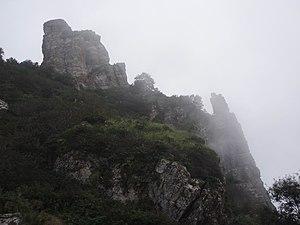 Taihang Shan Mountains in North China