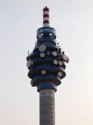Italiano: Torre Mediaset a Milano