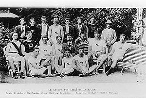 USA olympic team 1900 olympic games