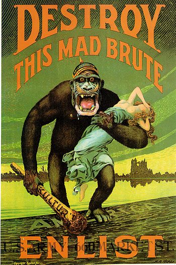 """English: """"DESTROY THIS MAD BRUTE - Enlist..."""
