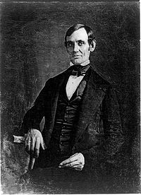 Daguerreotype of Lincoln c. 1846