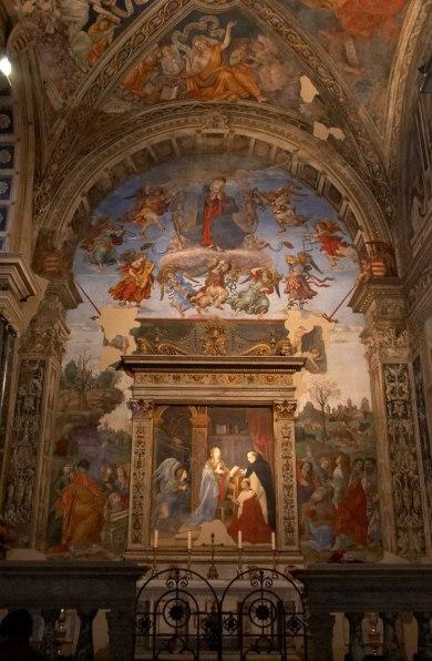 Filippino Lippi, San Tommaso in Cattedra, Cappella Carafa