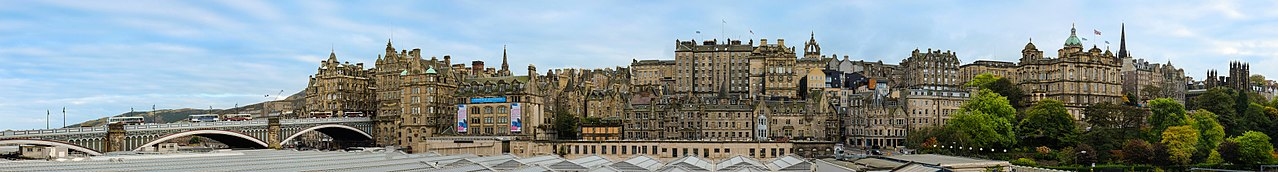 Edinburgh, Scotland. (Photo: Wikimedia Commons, author Depthcharge101)