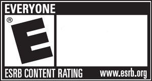 "ESRB ""Everyone"" rating symbol, displ..."