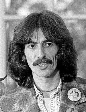 English: George Harrison in the Oval Office du...