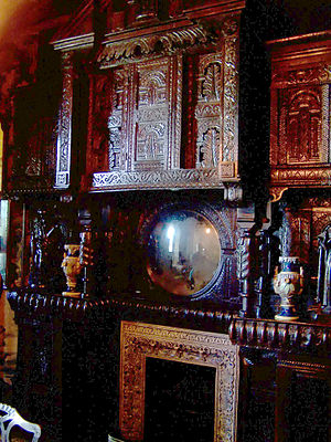 English: Interior of Victor Hugo's House in St...