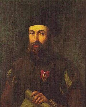 English: Ferdinand Magellan Español: Herando d...