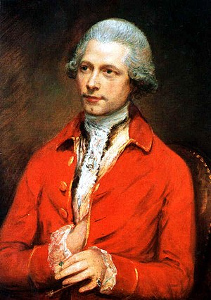 John-Joseph Merlin by Thomas Gainsborough