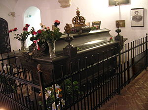 English: Crypt of King Ludwig II of Bavaria, b...