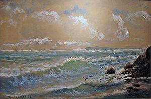 English: Seascape Polski: Krajobraz morski