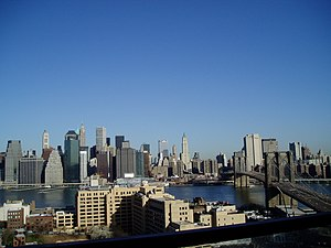 View from an apartment building in New York City.