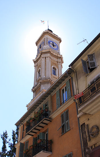 English: Nice, Tower of Saint François