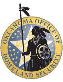 English: Logo for the Oklahoma Office of Homel...