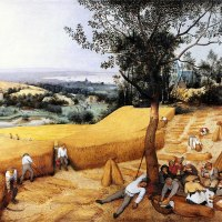 """The Harvesters"" by Pieter Bruegel the Elder (MET)"
