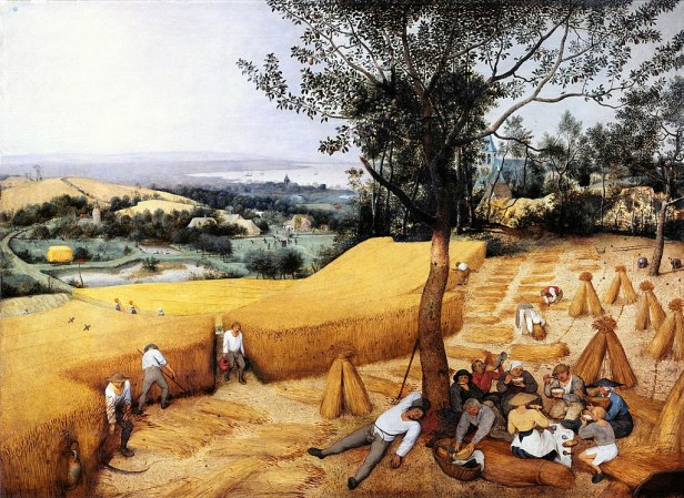 Pieter Bruegel the Elder- The Harvesters