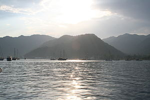 Port Göcek early evening