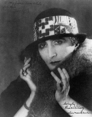 Rose Sélavy (Marcel Duchamp). 1921. Photograph...