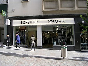 English: Topshop - Darley Street