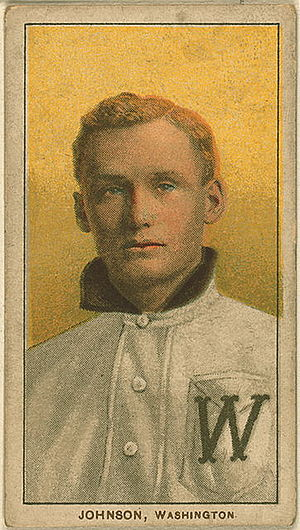 Walter Johnson on a 1909-1911 American Tobacco...