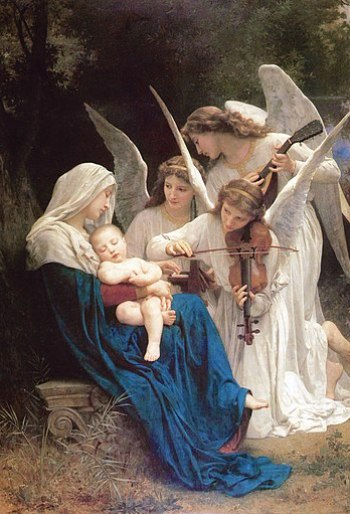 Song of the Angels by William Bouguereau, 1881.