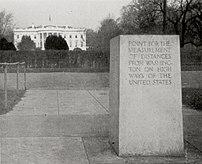 :en:Zero Milestone (1923), The Ellipse, :en:Wa...