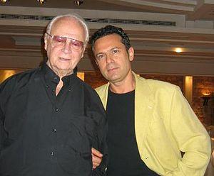 English: Dr. Rafael (Rafi) Kishon (r) and his ...